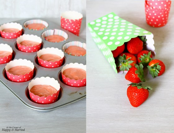 Made From Scratch Strawberry Cupcakes