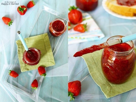 Homemade Chunky Strawberry Jam