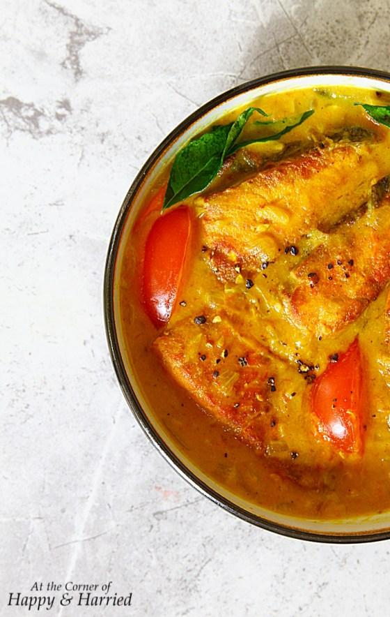 Mild Keralan Fish Stew {Fish Moilee}