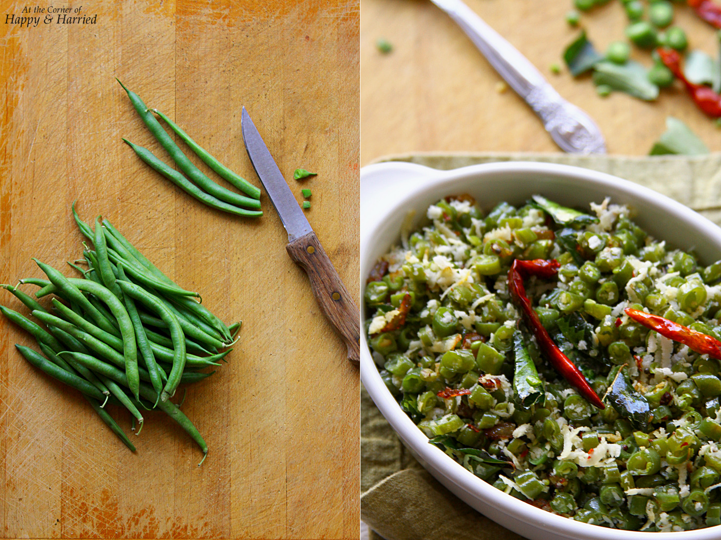 South Indian Green Beans Stir Fry