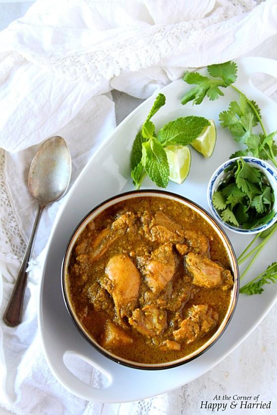 Chicken Korma {Tamil Nadu Style}