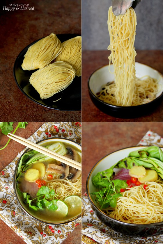 How To Make Asian Noodle Soup