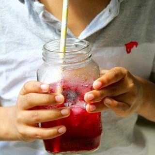 Blueberry Limeade (Or Lemonade)