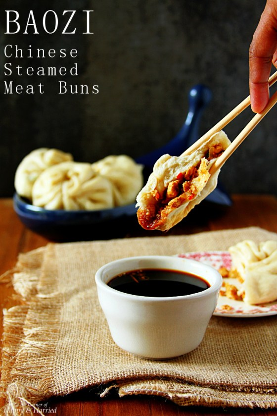 BAOZI {Chinese Steamed Meat Buns}
