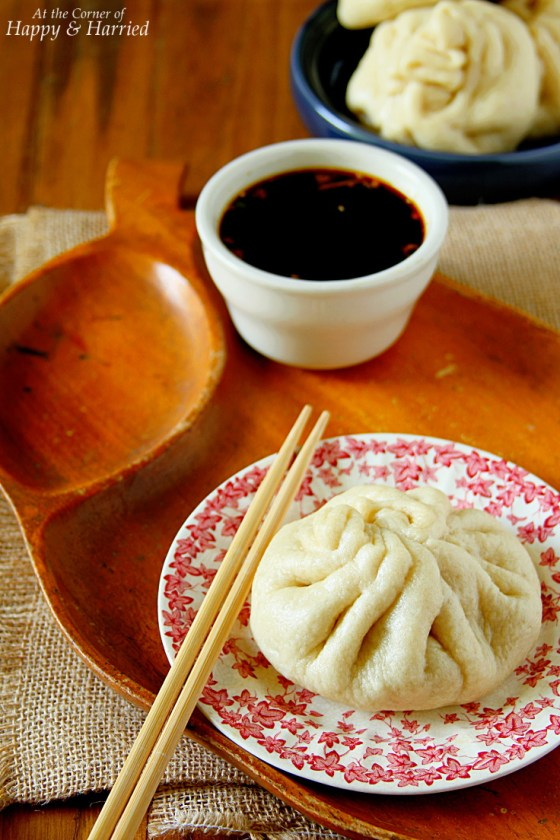 Chinese Steamed Chicken Buns