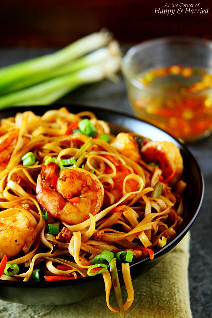 Spicy Asian Shrimp Noodles