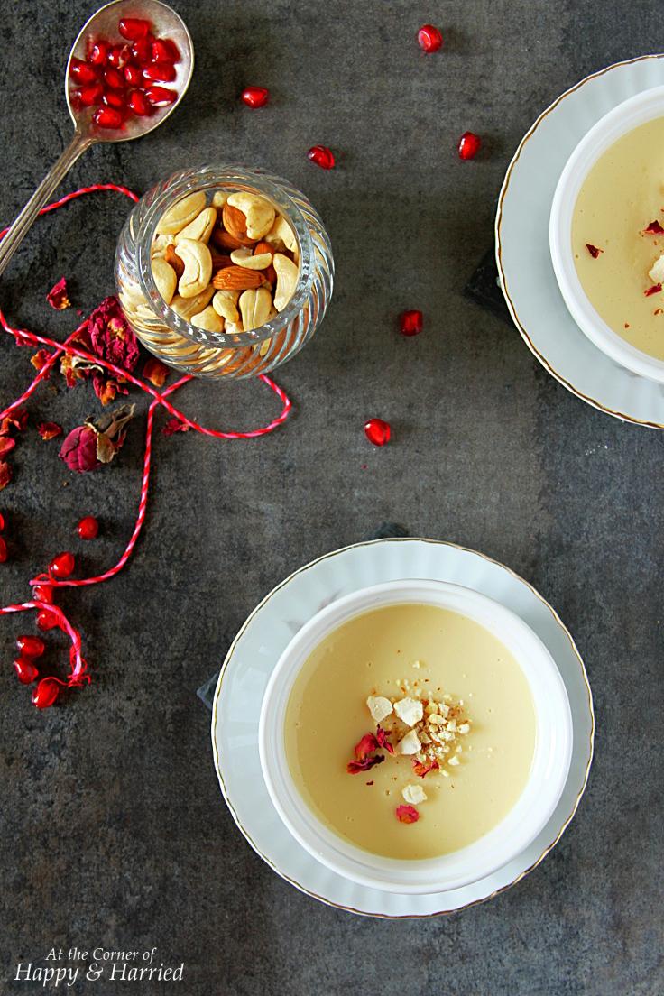 Bhapa Doi {Baked Sweet Yogurt Pudding}