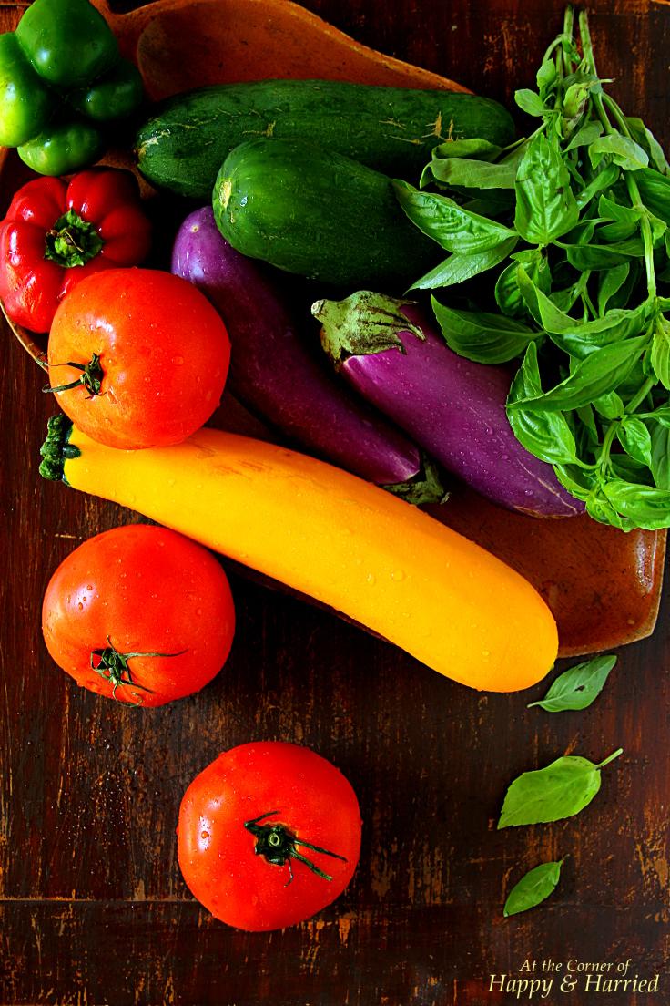 Farmers Market Vegetables & Herbs