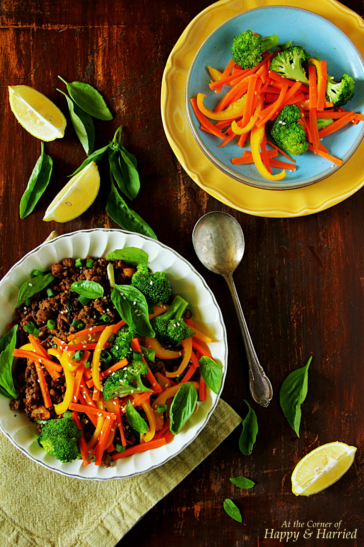 Quick Thai Beef-Basil Stir Fry