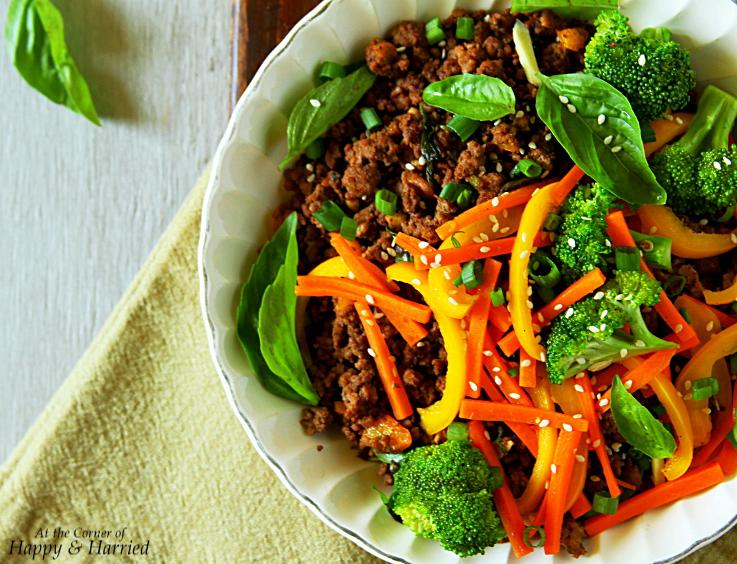 Thai Beef-Basil Stir Fry