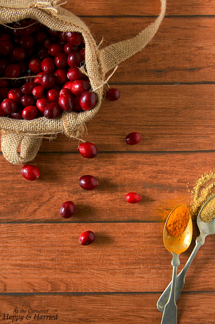 Cranberry Thokku (Indian Pickle) Ingredients