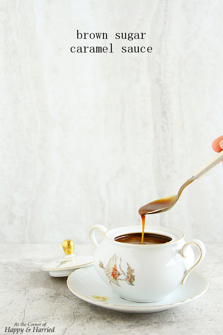Homemade Brown Sugar Caramel Sauce