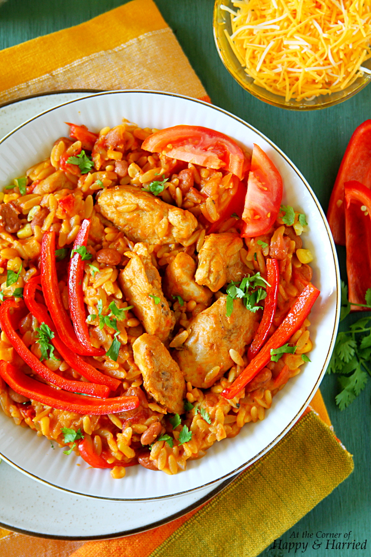 Mexican Chicken & Orzo