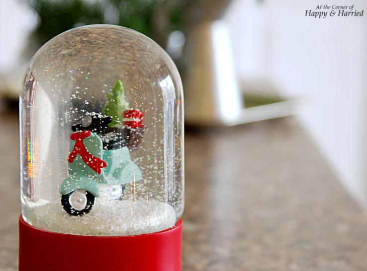 HappyandHarried Christmas 2015-Christmas Decor - Snow Globe