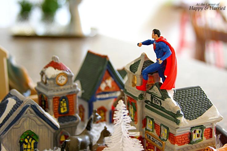 HappyandHarried Christmas 2015-Kids Christmas Village Scene