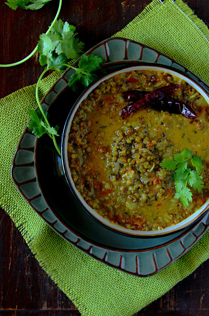 Kerala Style Green Gram Curry