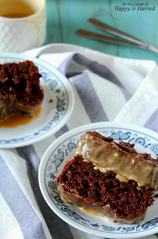 Peanut Butter Chocolate Loaf Cake