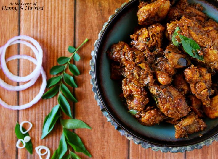 Tamil Nadu Style Chicken Roast