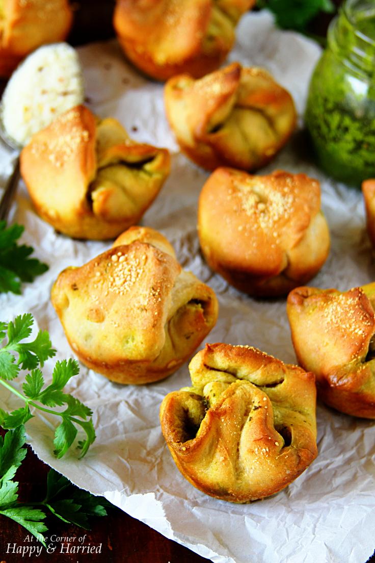 Chimichurri Bread Rolls