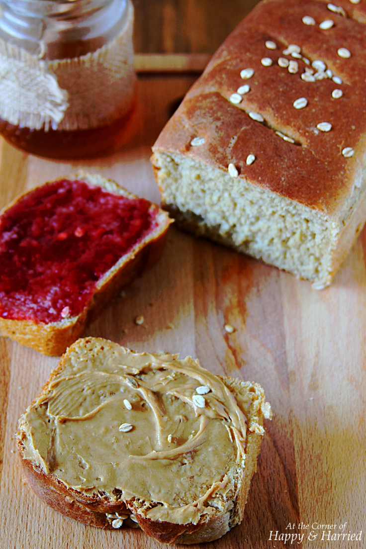 Easy Homemade Whole Wheat Sandwich Bread