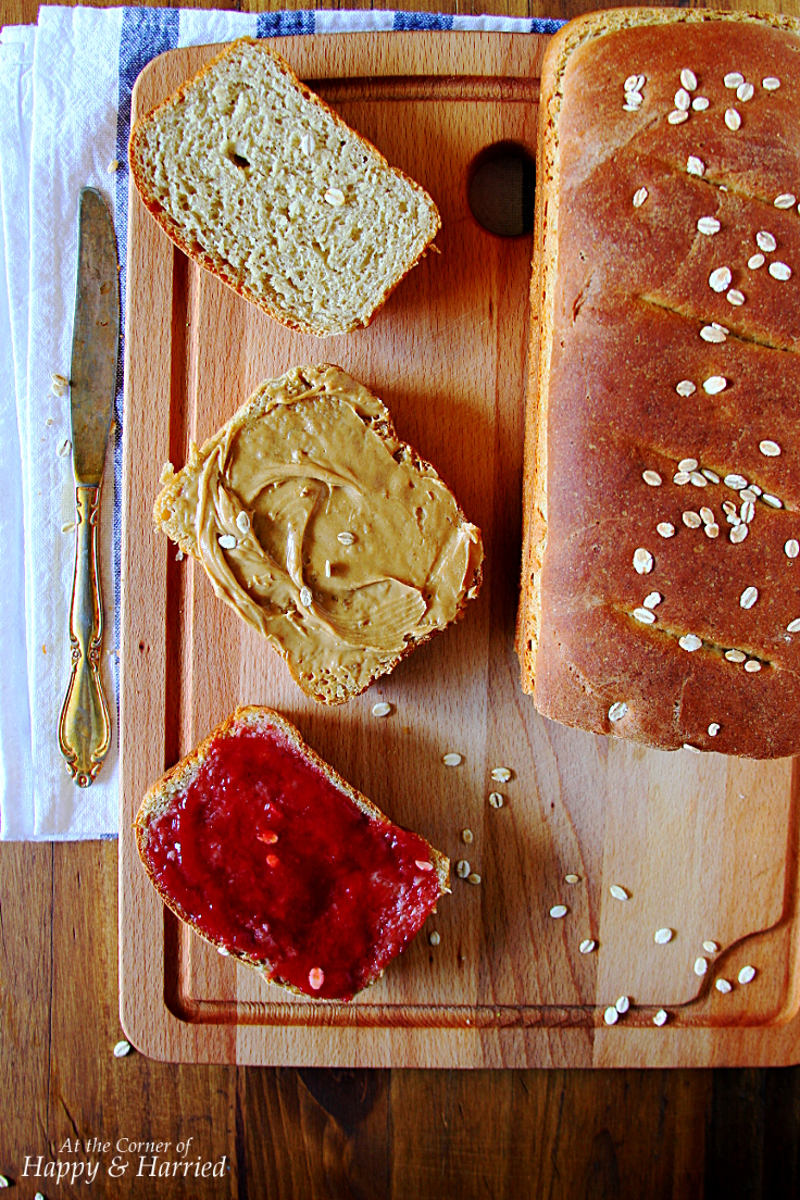 Easy Whole Wheat Sandwich Bread