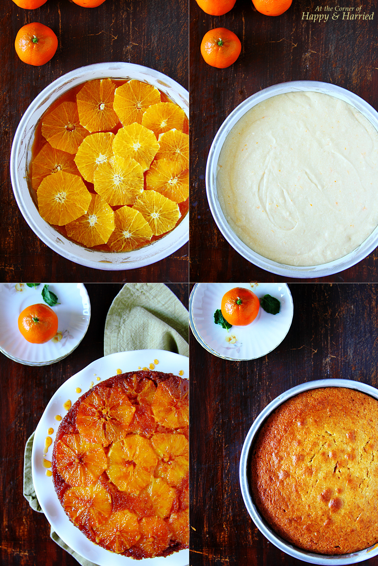 How To Make An Upside-Down Orange Cake