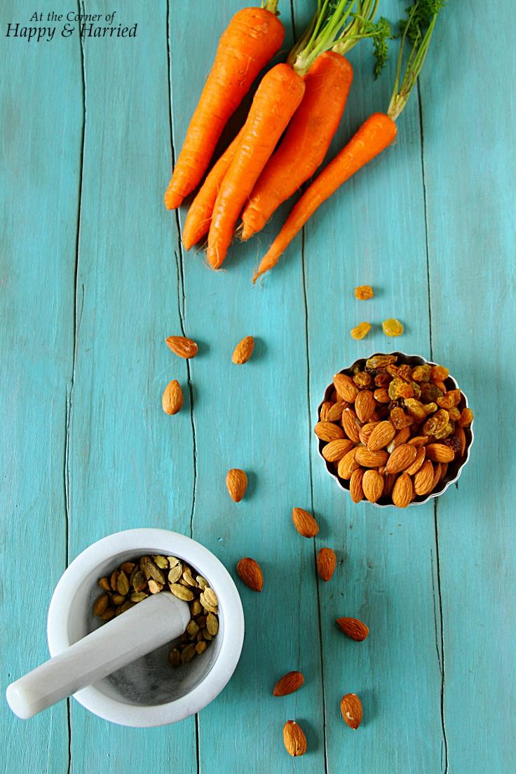 Mise En Place - Carrot Halwa