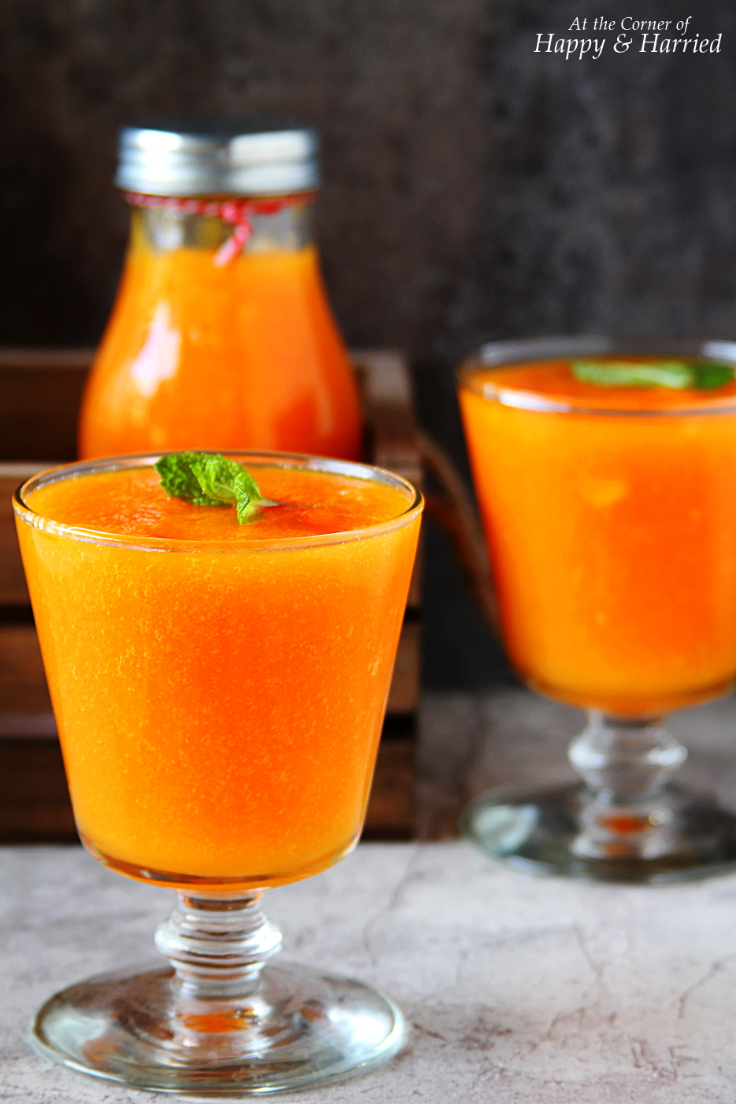 Papaya, Orange And Turmeric Immunity Booster Smoothie