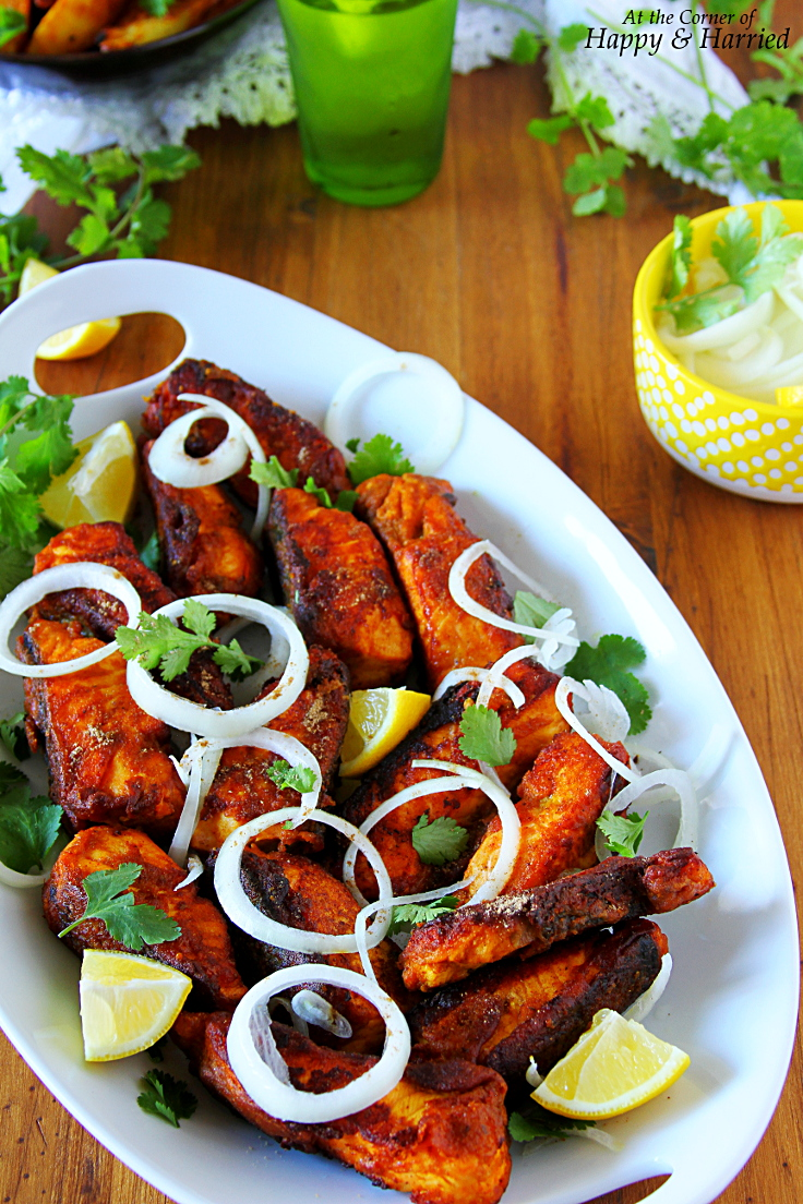 Spicy And Tangy Amritsari Fish