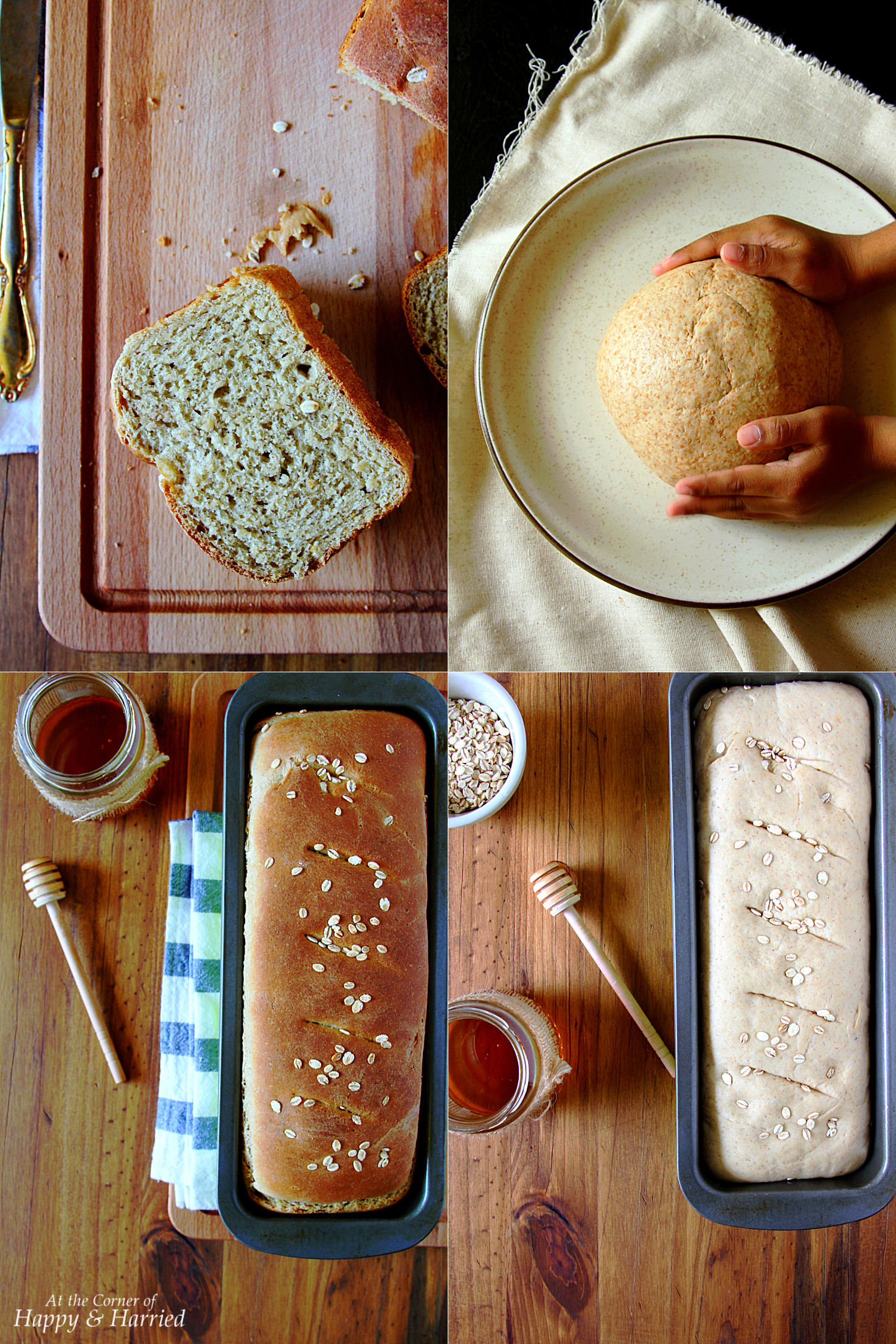 Whole Wheat Sandwich Bread Loaf