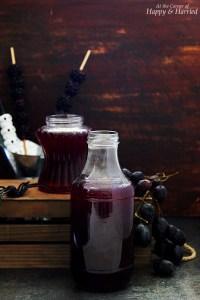 Spooky Halloween Blackberry Grape Punch