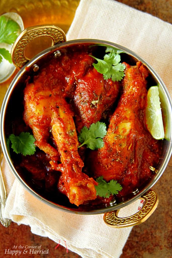 Achari Murgh {Chicken In Pickling Spices}