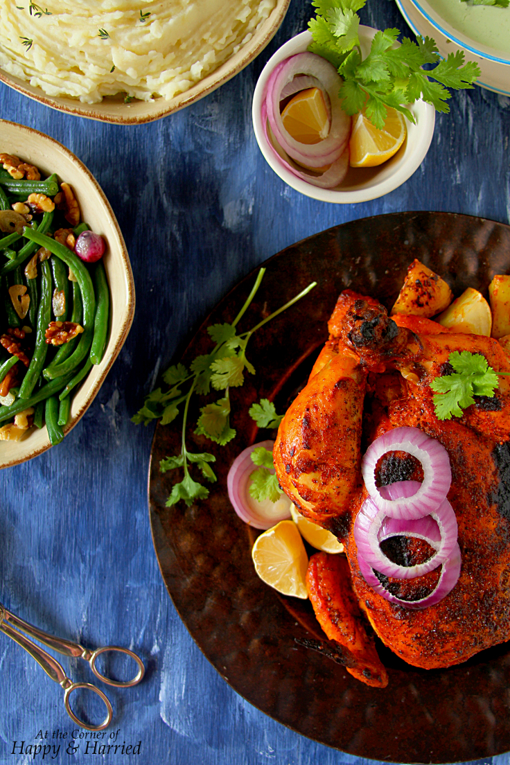 Whole Roasted Tandoori Chicken