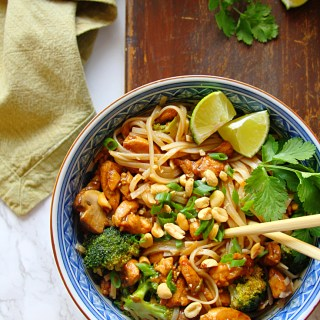 Kung Pao Chicken Noodle Bowl