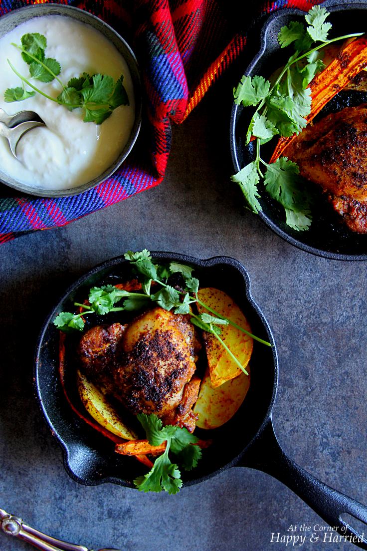 Tamarind & Spice Rubbed Roast Chicken
