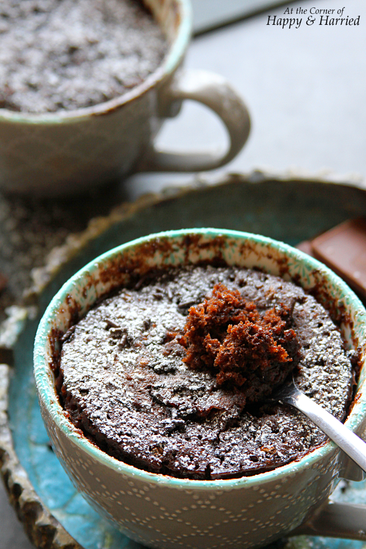 Best Ever Chocolate Mug Cake