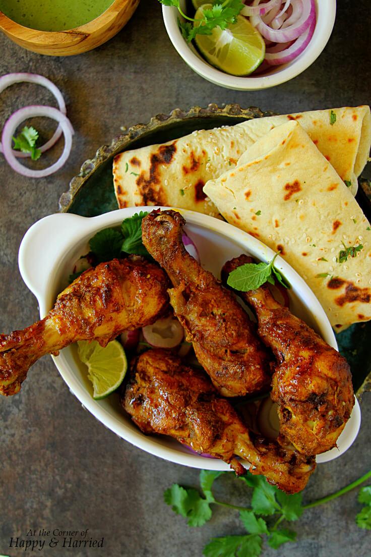 Tangdi Kebab Oven Baked Tandoori Chicken Legs