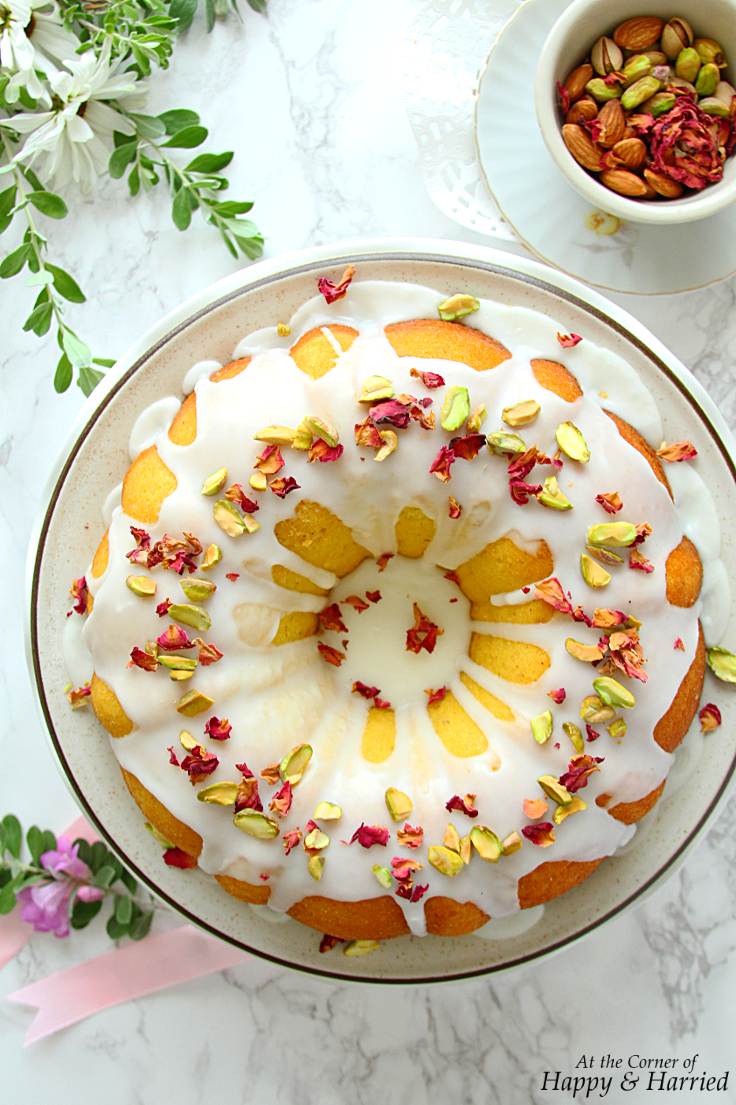 PERSIAN LOVE CAKE - HAPPY&HARRIED