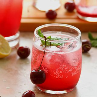Cherry Lemon Spritzer
