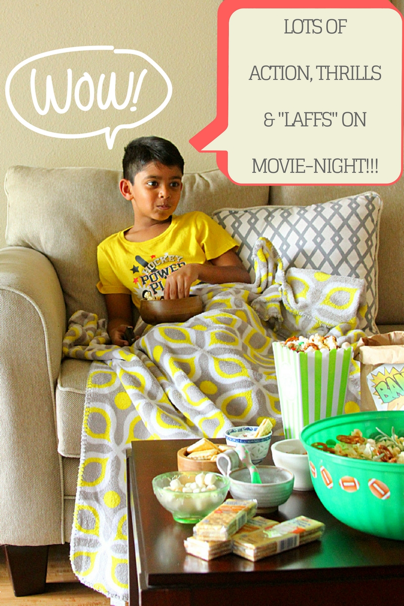 MOVIE-NIGHT POPCORN & CRACKERS SNACK MIX - HAPPY&HARRIED