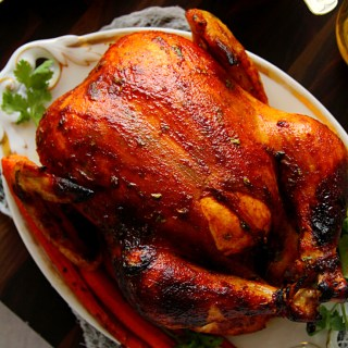 ASIAN INSPIRED WHOLE ROASTED CHICKEN - HAPPY&HARRIED