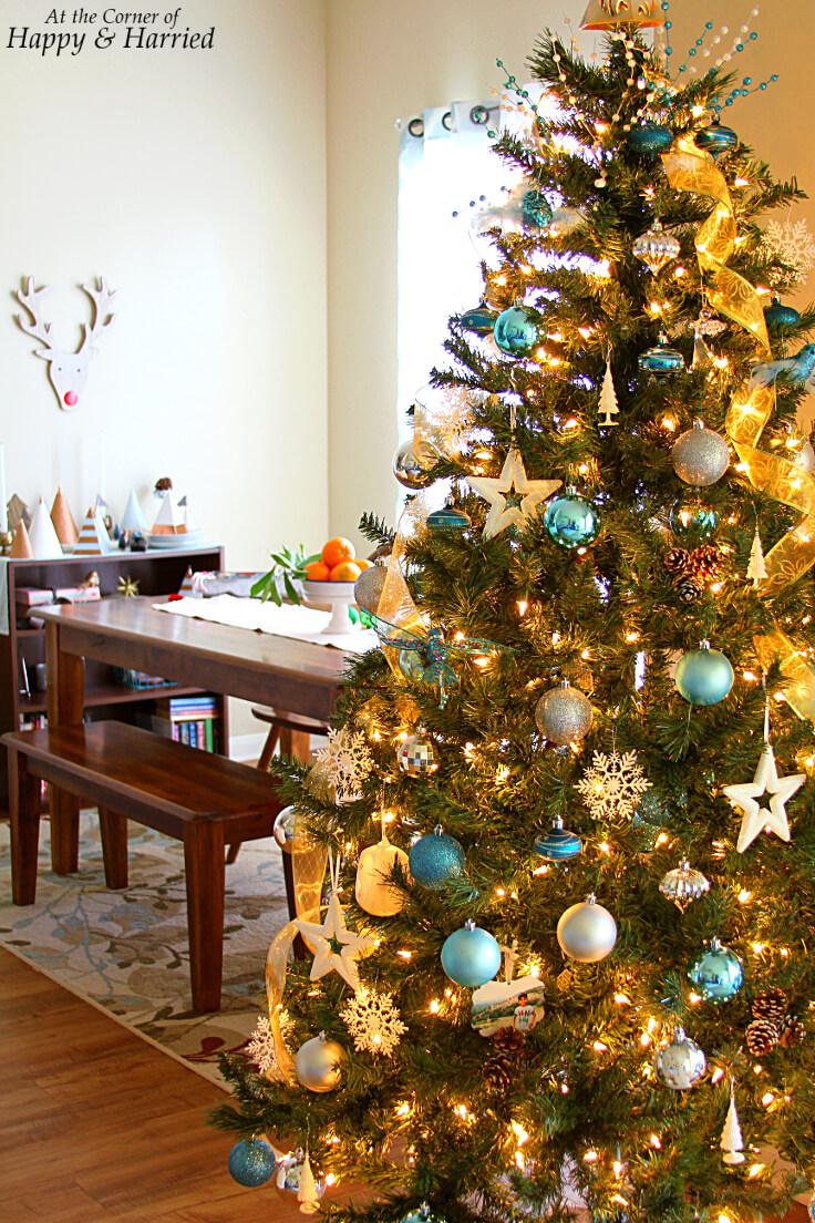 Christmas Home Decor - Happy&Harried