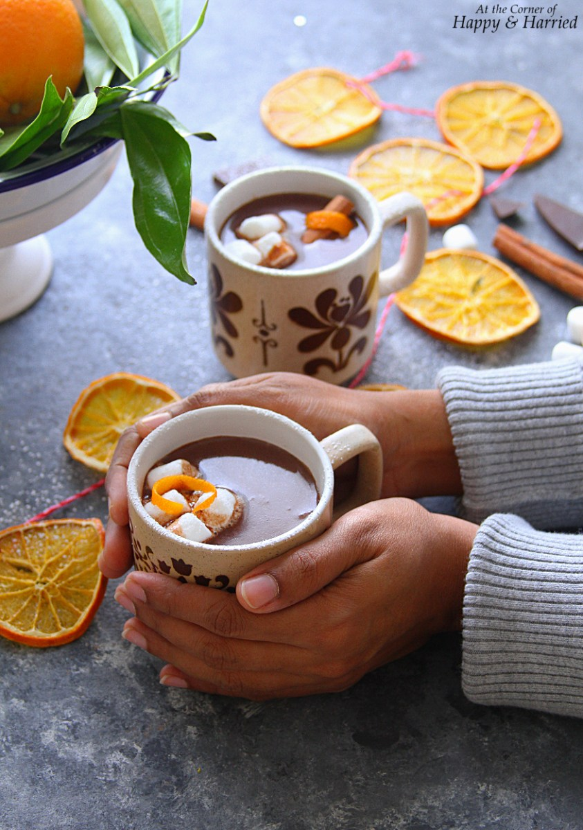 Orange-Cinnamon Hot Chocolate
