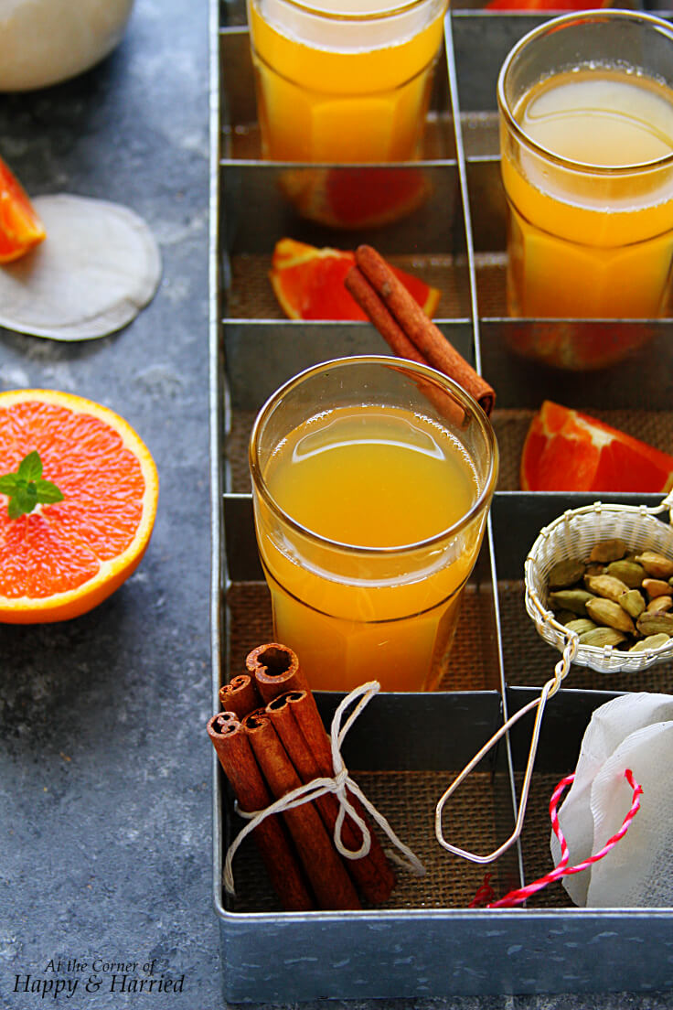 Winter Spice Orange Tea