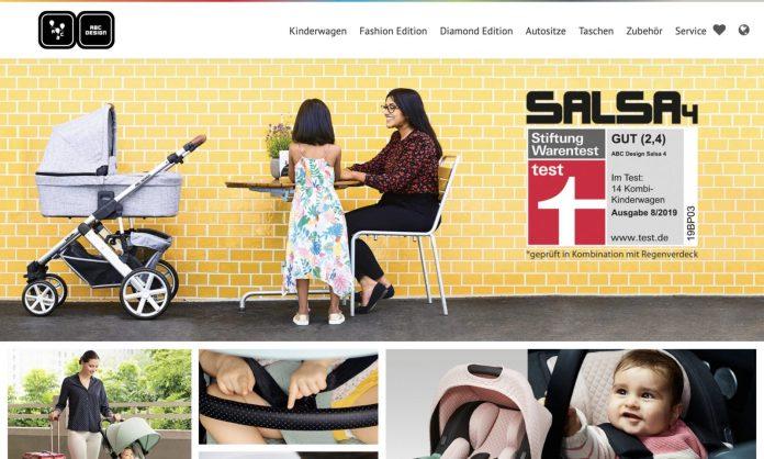 Screenshot der Marke Abc Design