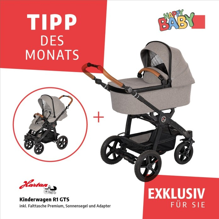 Tipp des Monats - März und April 2020 - Hartan - Kinderwagen