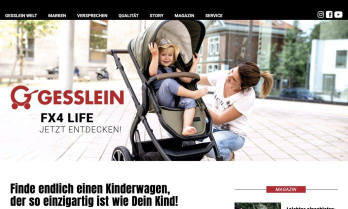 Screenshot der Marke Gesslein