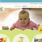 Screenshot der Marke Hess Holzspielzeug