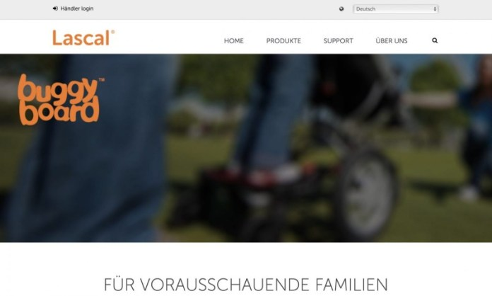 Screenshot der Marke Lascal