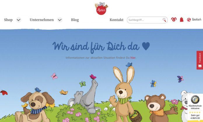 Screenshot der Marke Sigikid